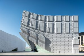 The Imprint by MVRDV: a 2-building art-entertainment complex near Seoul's Incheon Airport