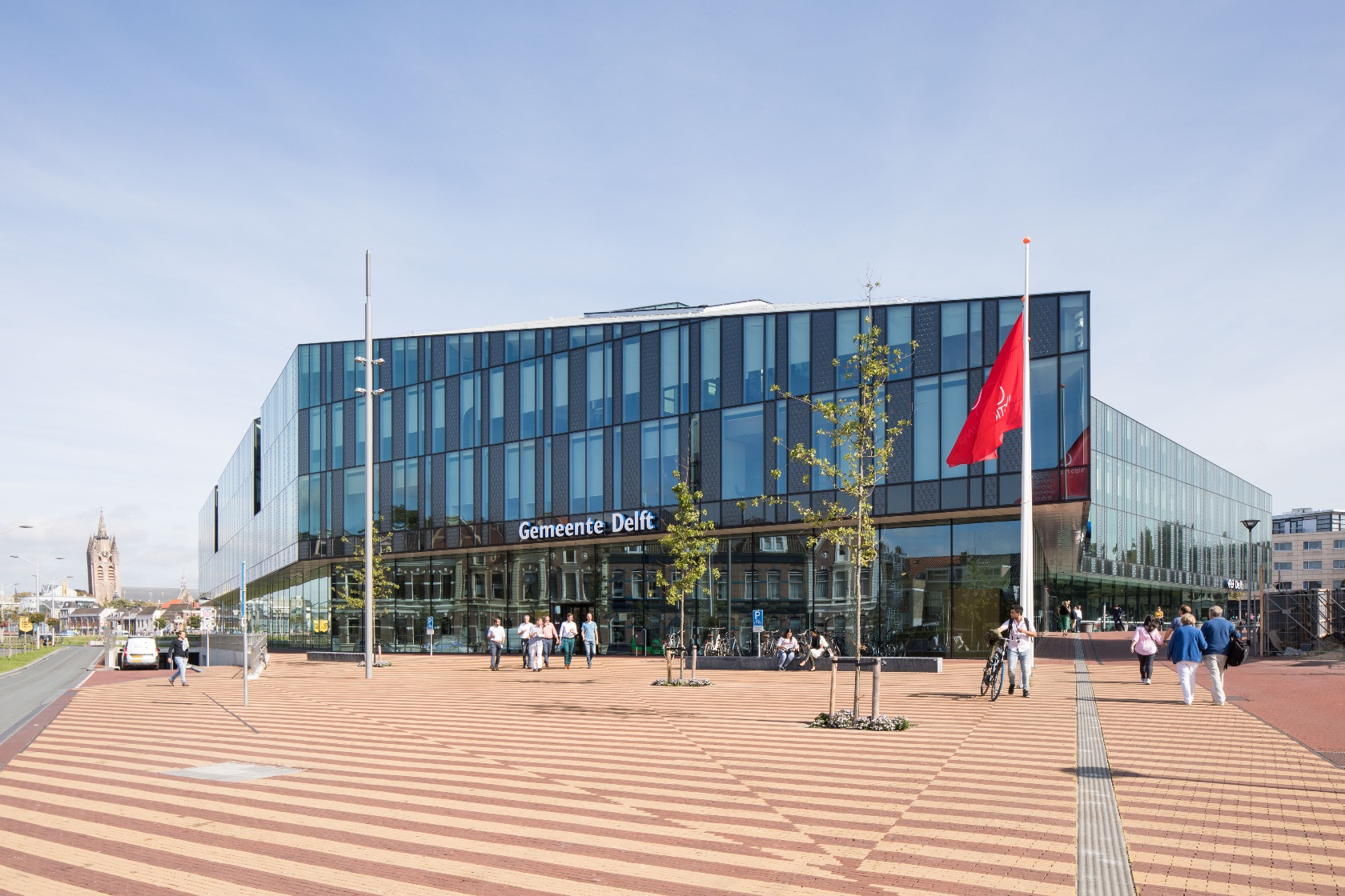 3_Delft City Hall and Train Station_Mecanoo Architecten_Inspirationist
