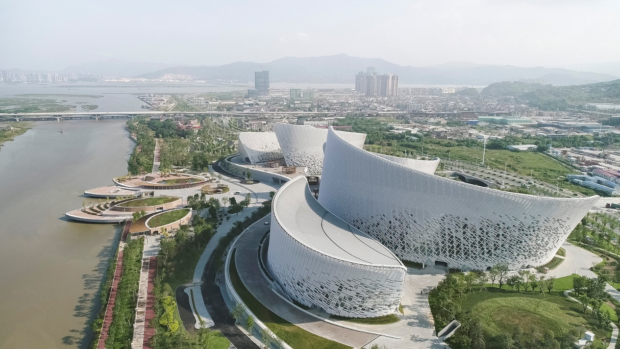 1_The Fuzhou Strait Culture and Art Centre_PES-Architects_Inspirationist