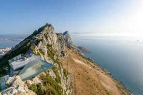 New Gibraltar Rock Skywalk offers new and unrivaled views in all directions