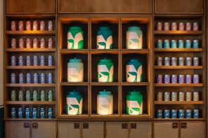 Teatulia Covent Garden flagship store and new brand identity by Here Design