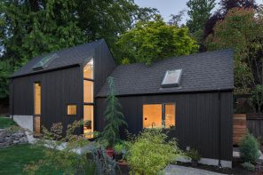 Granny Pad: A spacious living quarters converted from a backyard garage