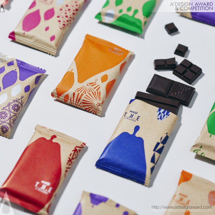 14_Meiji the Chocolate Sweets Packaging by Kimiko Ida