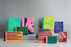 Here Design's art materials collection for Tate is inspired by artistic gestures
