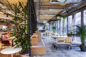 KANTINI, Europe's first Design Food Court in Bikini Berlin