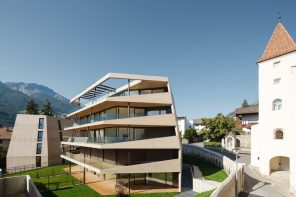 A residential complex in an old castle garden in South Tyrol