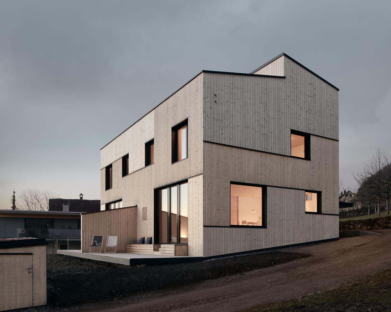 Lukas Mähr, Haus in Hohenems