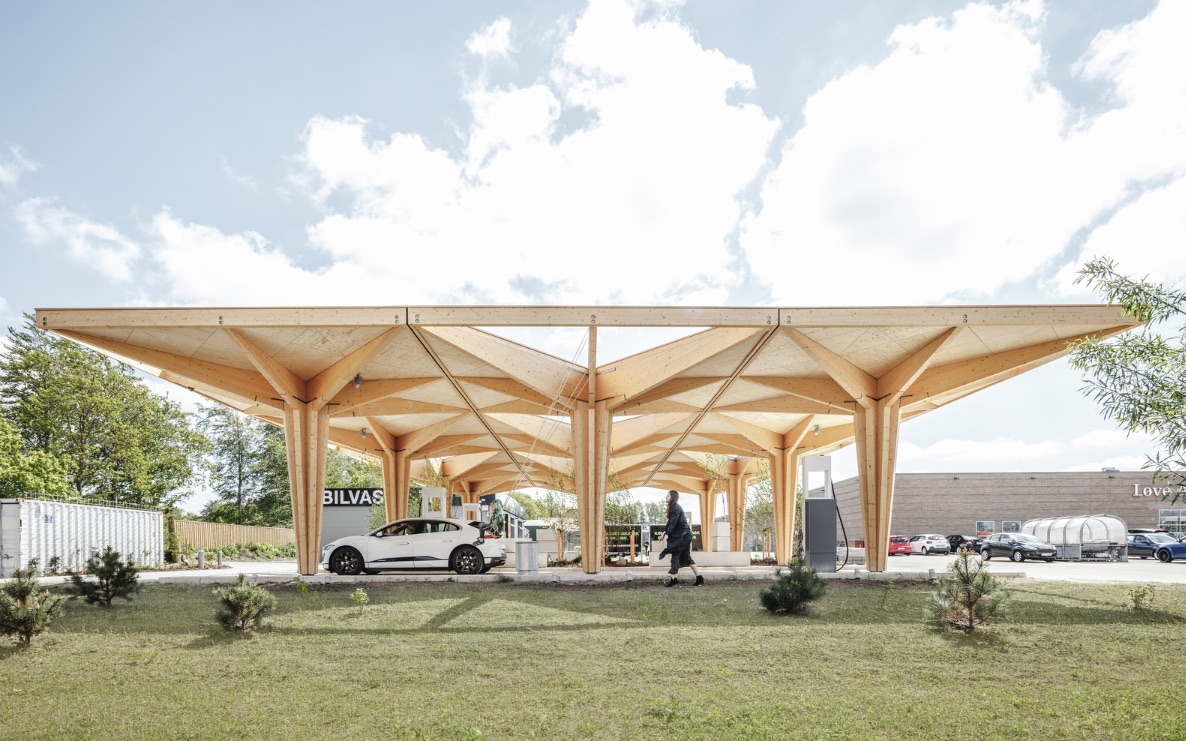 2_Ultra Fast Charging Station for Electric Vehicles_COBE_Inspirationist