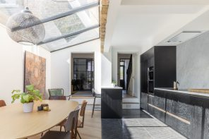 A contemporary, bright and open structure in Hackney
