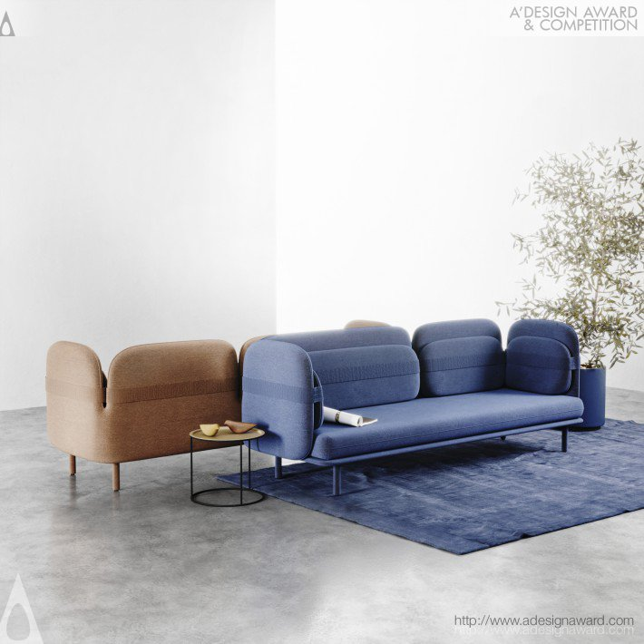 Bandage Sofa by Olga Bogdanova and Elena Prokhorova