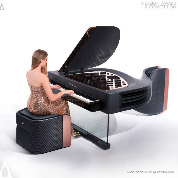 Exxeo Luxury Hybrid Piano by Iman Maghsoudi