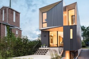 A contextual single-family residence that owes little to convention
