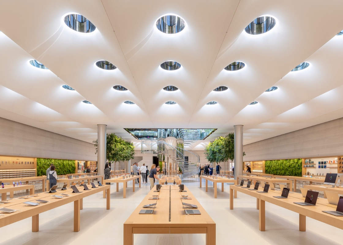 1_Apple Store Fifth Avenue_Foster + Partners_Inspirationist