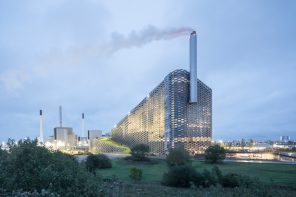 BIG's waste-to-energy plant embodies the notion of hedonistic sustainability