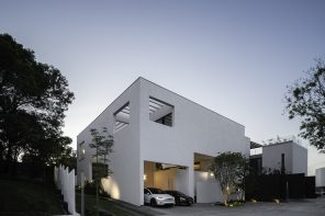 Casa Ombra: a house inscribed within an almost perfect cube