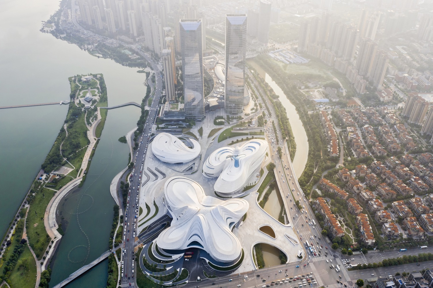 15_Changsha Meixihu International Culture and Art Centre_Zaha Hadid Architects_Inspirationist