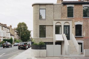 Corner House is a contemporary interpretation of a typical Victorian suburban townhouse