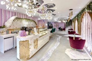Feya Café's flagship space takes customers on a journey into a world of illusion and fascination