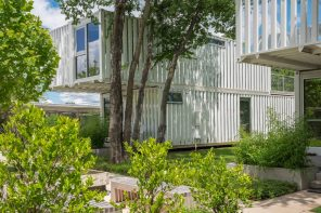Squirrel Park makes innovative use of modified shipping containers