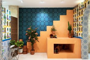 FormRoom designs Andalusian-inspired showroom for Cole & Son