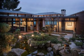 Hidden Cove: a home that merges garden and shelter