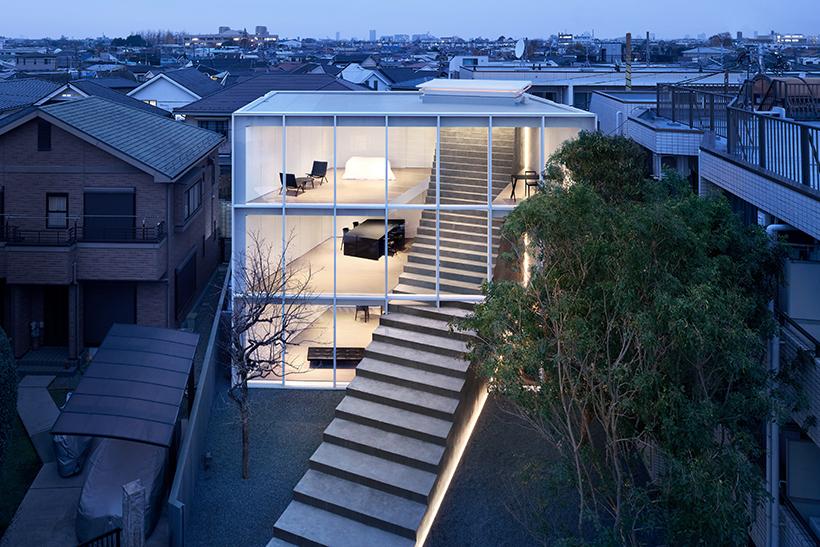 15_Stairway House_nendo_Inspirationist