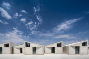 A prefabricated housing project characterized by immediacy, flexibility and resource optimization