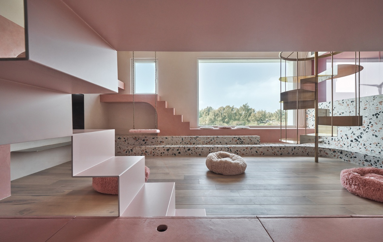 1_Cats' Pink House_KC Design Studio_Inspirationist