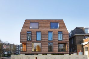 Clay shingles embed south London apartments into their red brick Victorian context