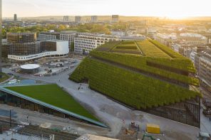 8 Kilometres of Hornbeam Hedges – Europe's Largest Green Facade