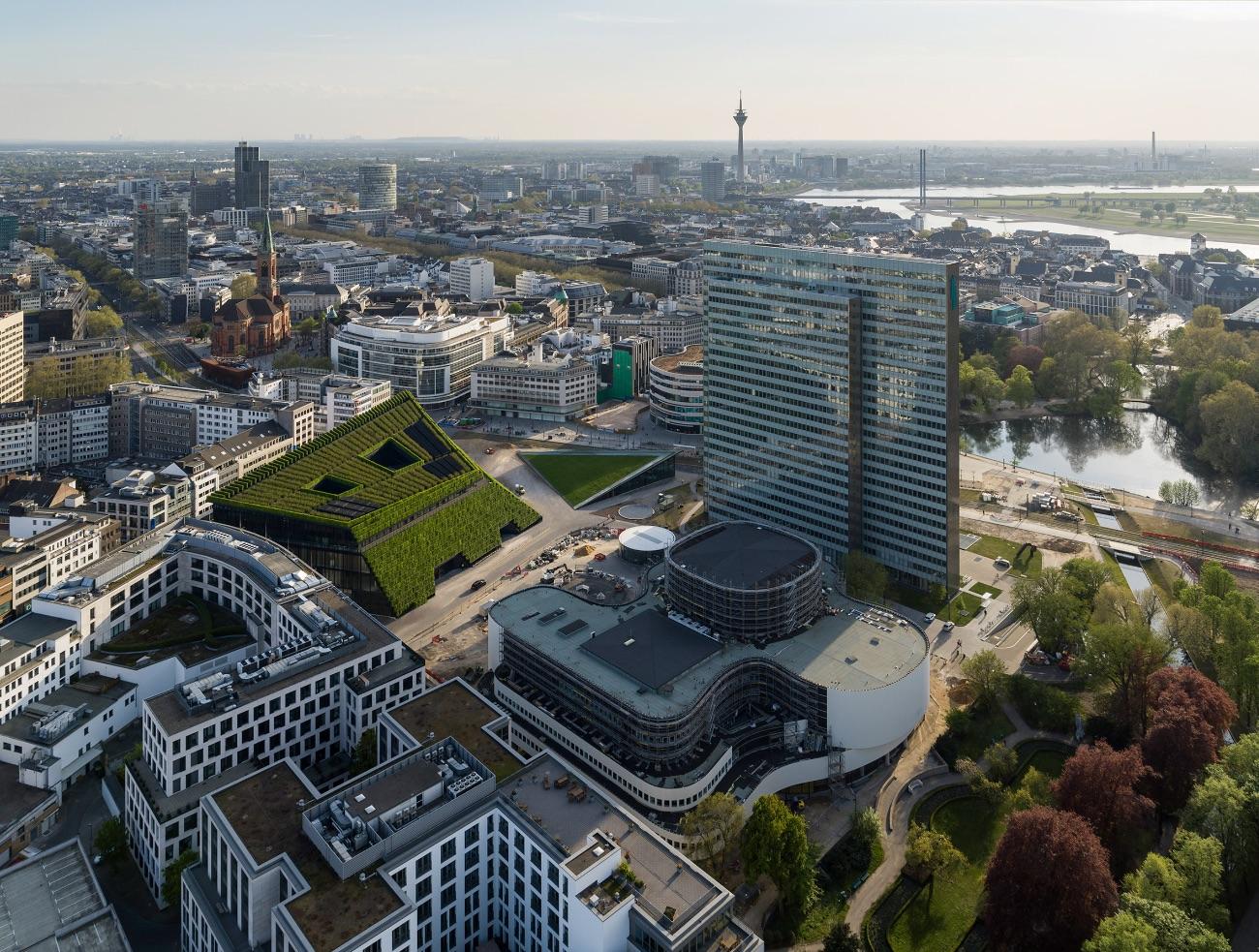 2_ingenhoven architects_Kö-Bogen II Düsseldorf_Inspirationist