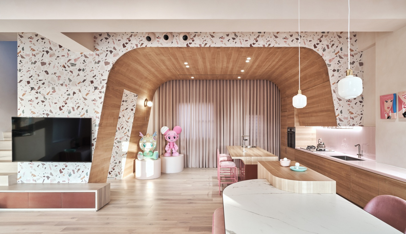 5_Cats' Pink House_KC Design Studio_Inspirationist