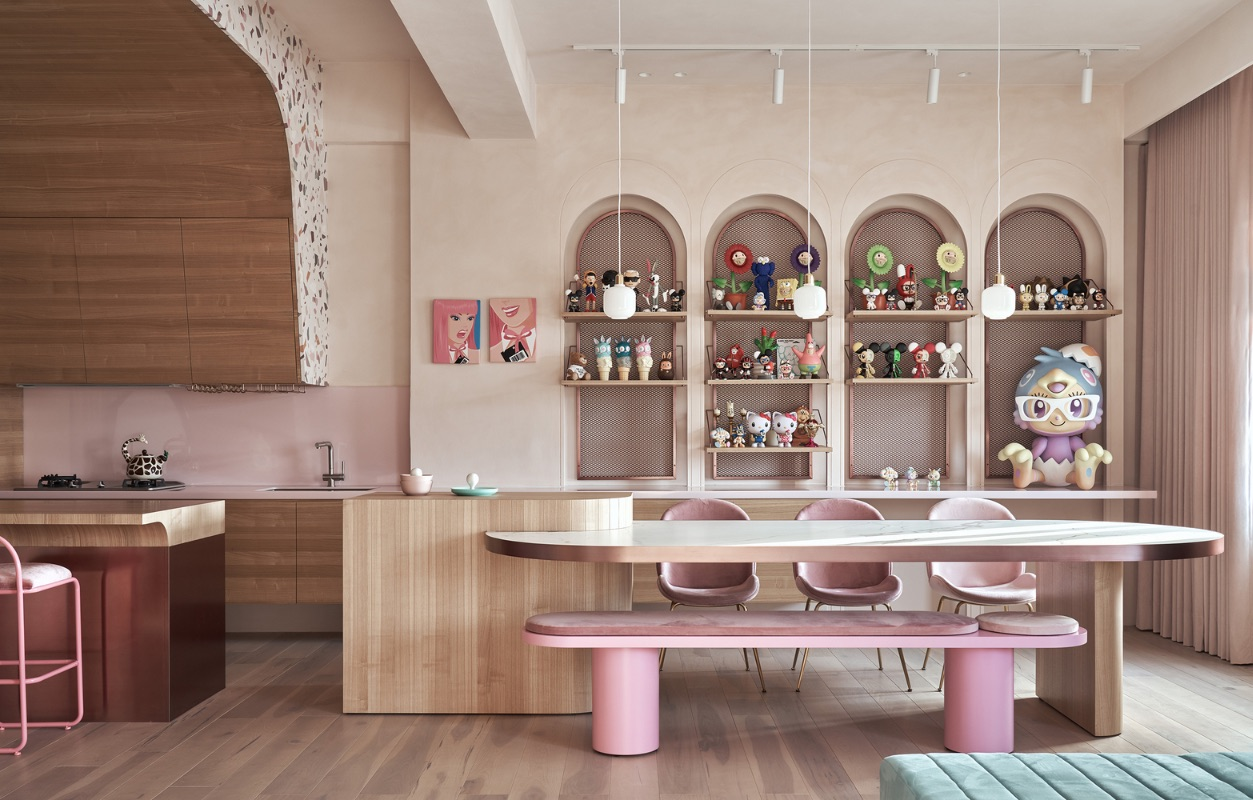 7_Cats' Pink House_KC Design Studio_Inspirationist