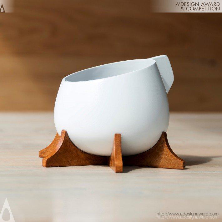 Venus 3D Printed Cup by Tiger ChongSheng Guo