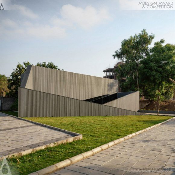 Wrapped Volumes Sales Office by Boney Keriwala and Alak Parmar