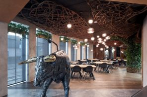 STK Restaurant embraces the automotive heritage of its location