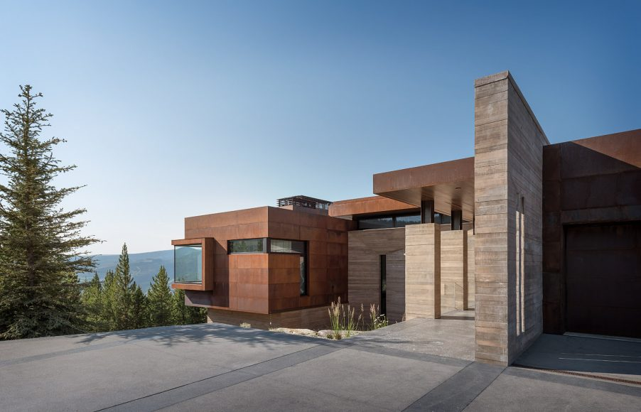 1_Stuart Silk Architects_Yellowstone Residence_Inspirationist