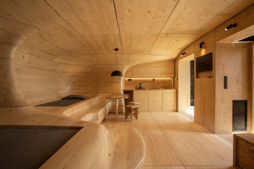 1_Wooden Cave_Tenon Architecture_Inspirationist