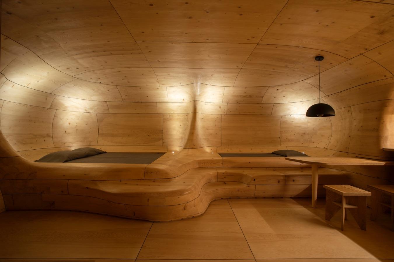3_Wooden Cave_Tenon Architecture_Inspirationist