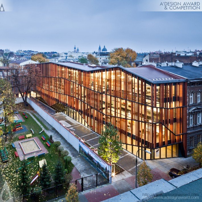 Malopolska Garden of Arts (MGA) Performing Arts Centre & Mediatheque by Ingarden & Ewý Architects