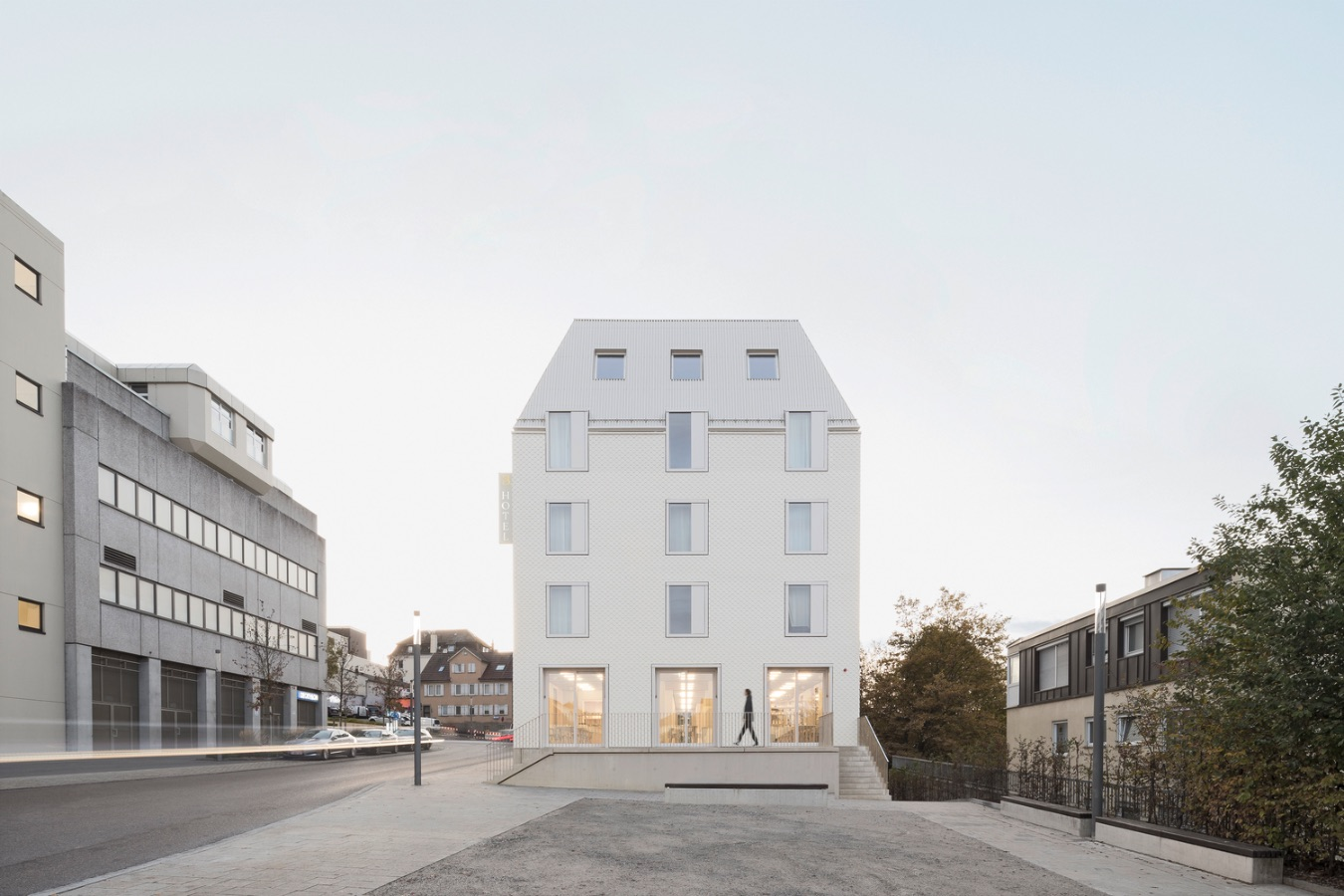Hotel Bauhofstrasse is a consistent sustainable building with eyes on the future
