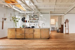 Studio Modijefsky transforms monumental industrial site into home and studio for artist couple