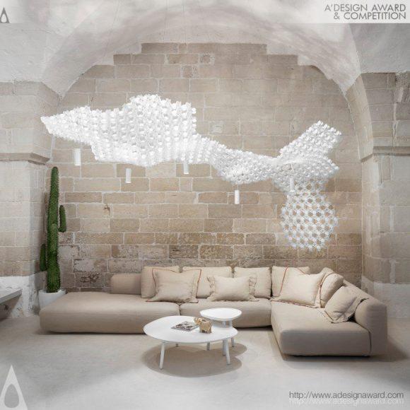 Nuvem Decorative Lighting Solution by Miguel Arruda