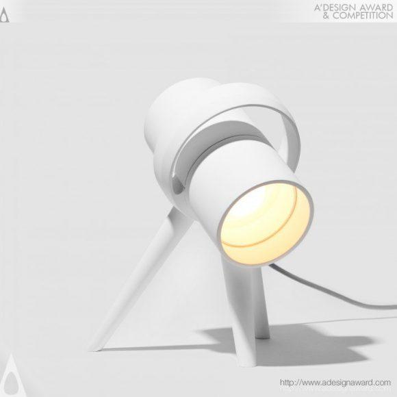 Pluto Task Lamp by Heitor Lobo Campos