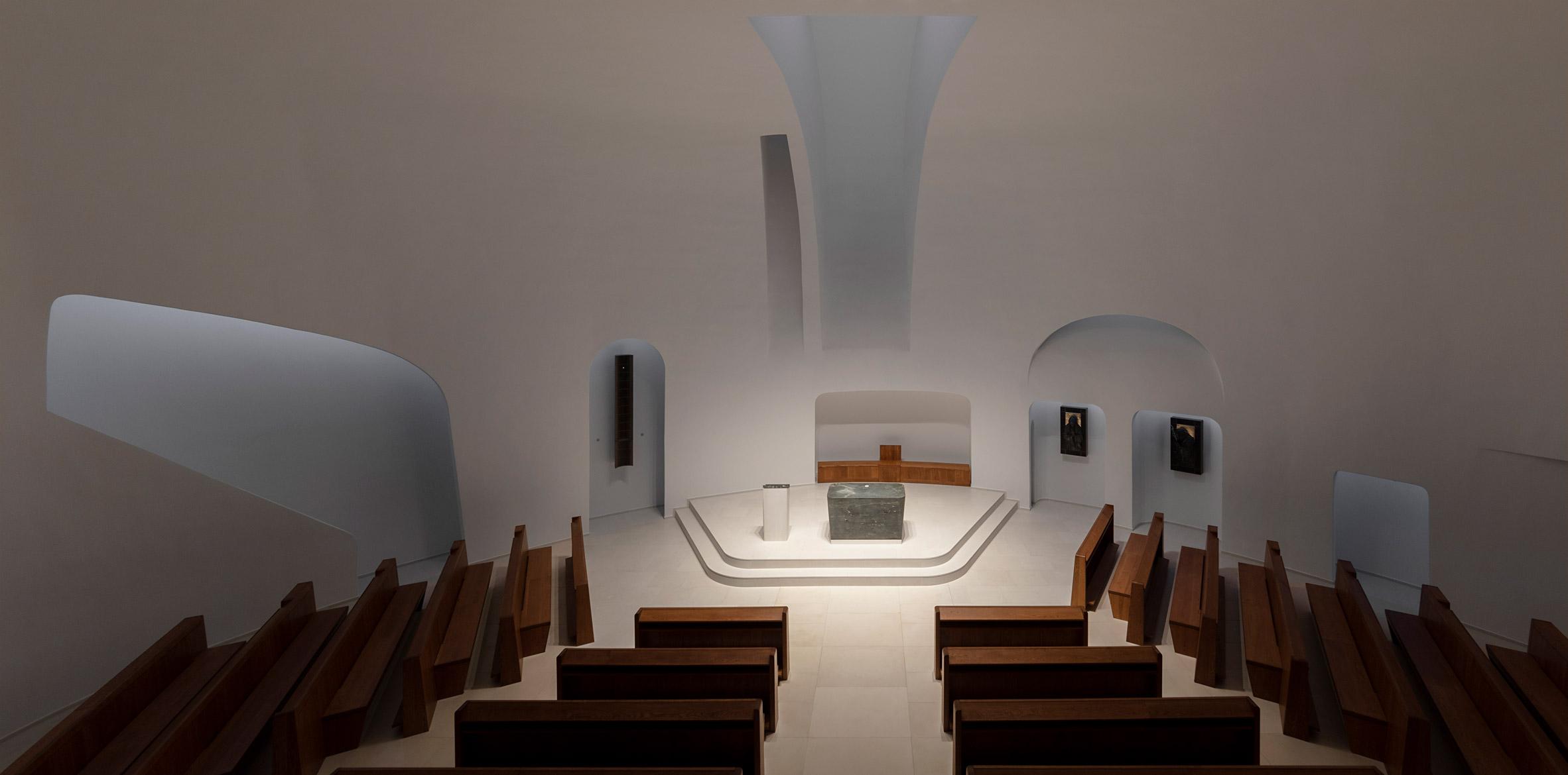 7_Saint John Paul II Church_Robert Gutowski Architects_Inspirationist
