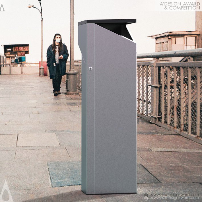 Smart-Cleaner-Outdoor-Disinfectant-Dispenser-by-Jaroslaw-Markowicz