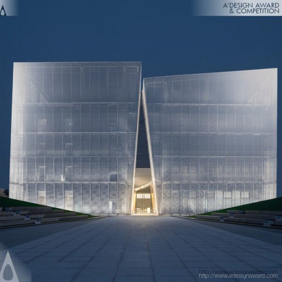 ShuiFa-White-Marble-in-the-Wilderness-Property-Exhibition-Centre-by-Qun-Wen