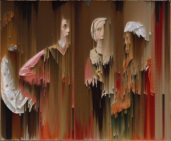 Pixels on Old Masters by Raluca Sturzu on Inspirationist (17)