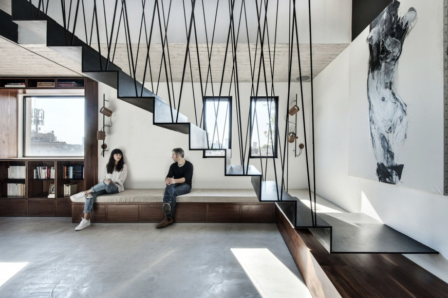 5_Duplex in Tel Aviv _Toledano+Architects_Inspirationist