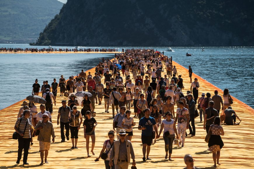 15_The Floating Piers_Christo and Jeanne Claude_Inspirationist